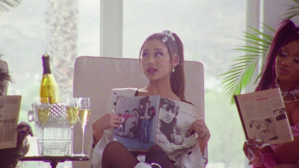 Ariana Grande, Doja Cat & Megan Thee Stallion Sexy – 34+35 Remix (47 Pics + Video)