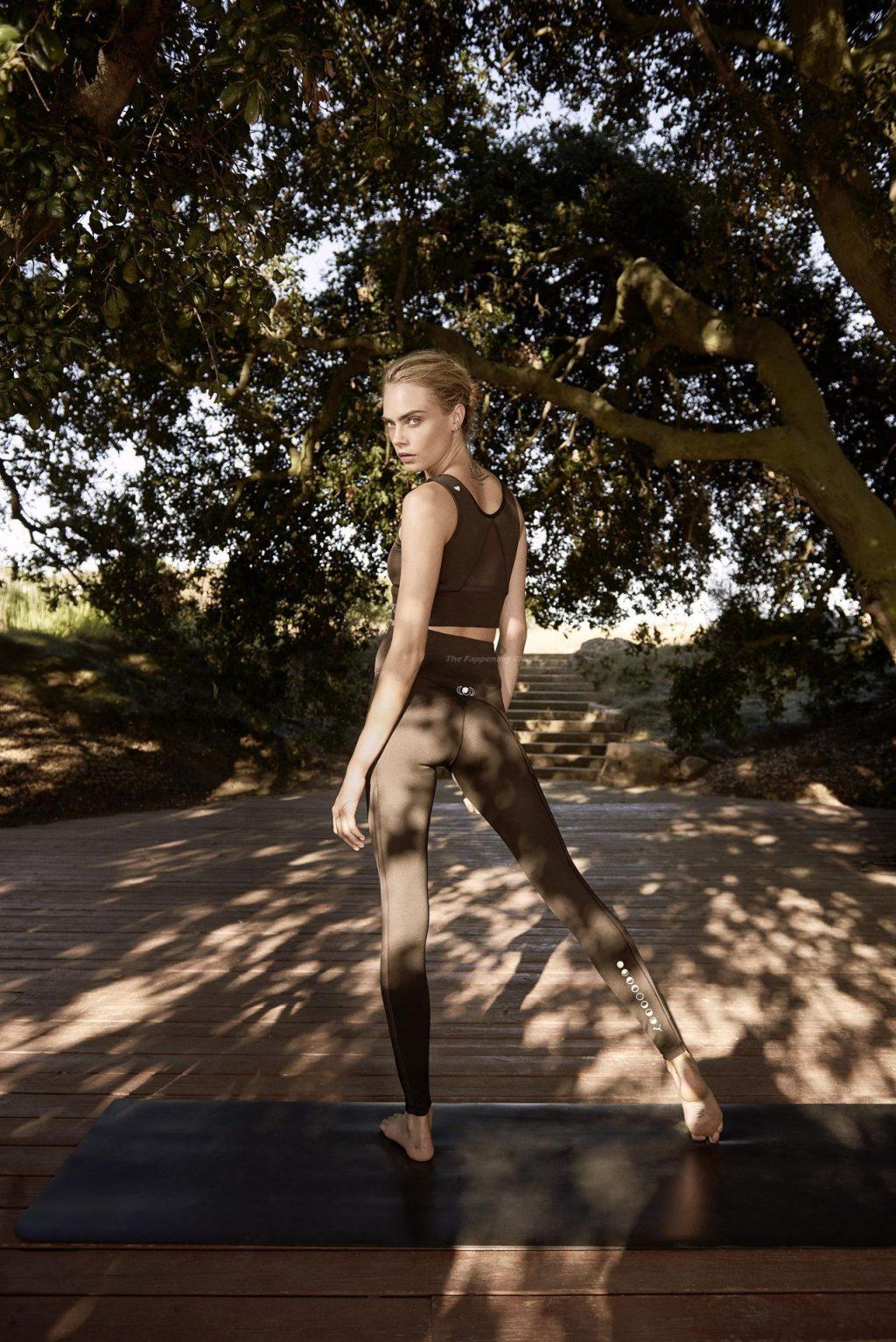 Cara Delevingne Presents a New Puma Yoga Collection (10 Photos)