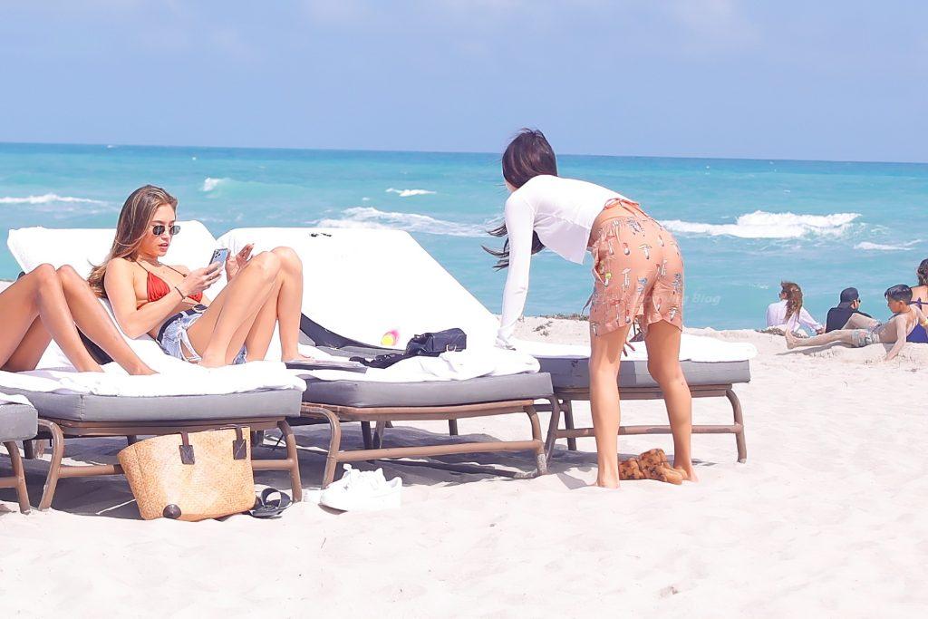 Chantel Jeffries & Jocelyn Chew Hit the Beach in Miami (84 Photos)