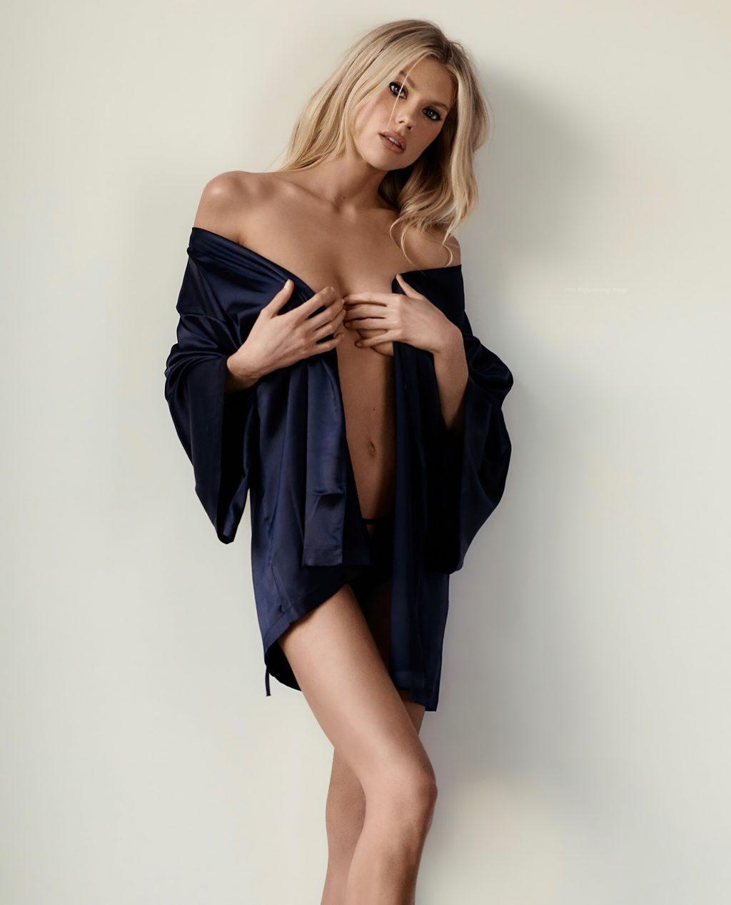 Charlotte McKinney Promotes La Senza Lingerie (7 Photos)