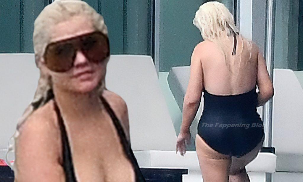 Christina Aguilera Sexy (2 Collage Photos)