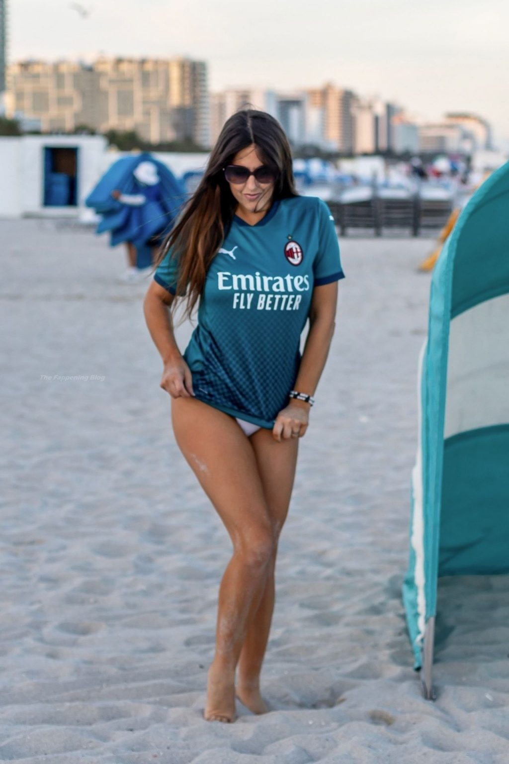 Claudia Romani Shows Her Love for AC Milan (32 Photos)