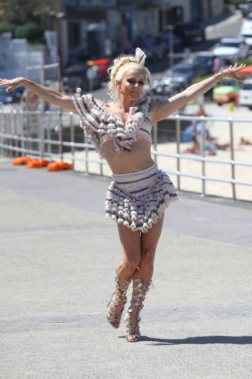 Courtney Act is Pictured on the Set in Sydney (74 Photos)