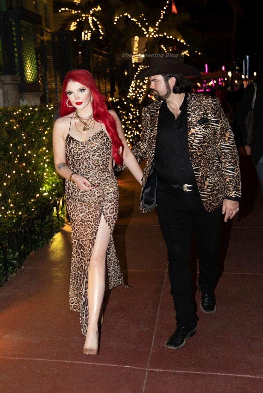 Denny Strickland & Hunter Enjoy a Night Out in South Beach (9 Photos)