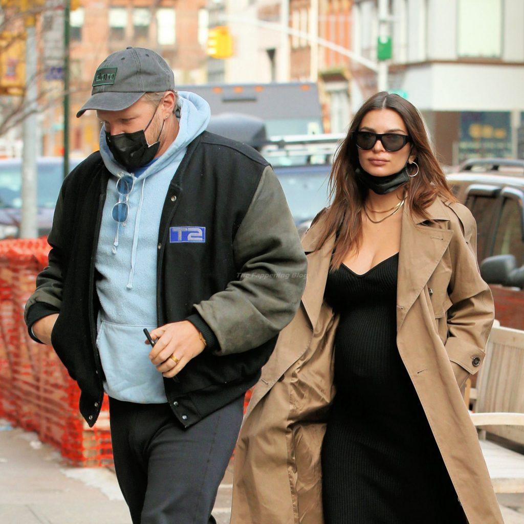 Emily Ratajkowski Shows Off Her Baby Bump in New York (29 Photos)