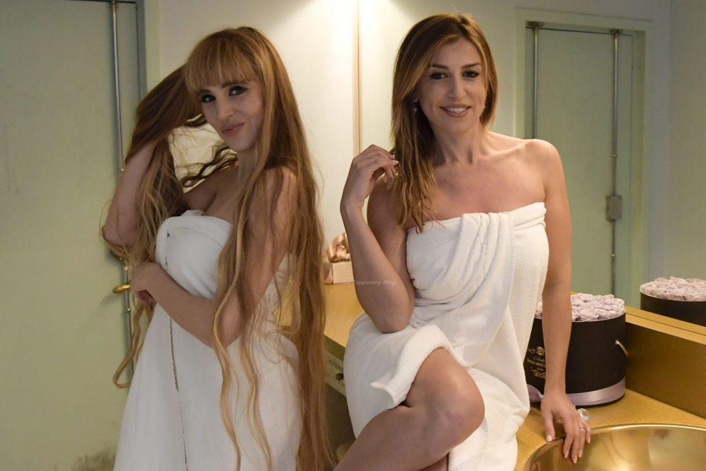 Georgia Viero & Roberta Pedrelli are Pictured on the Le Tifose Set (20 Photos)