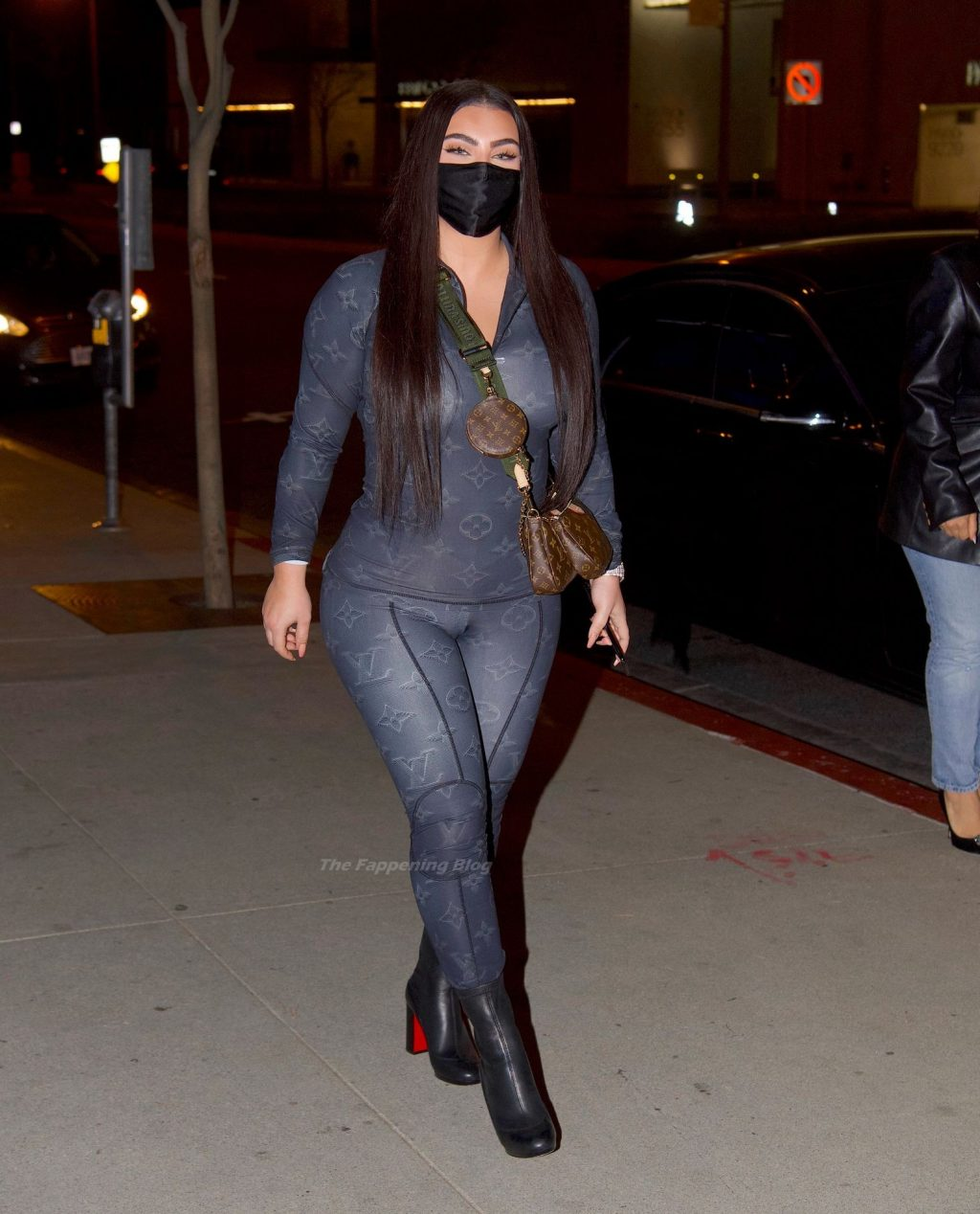 Hrush Achemyan Steps Out for Night Out at BOA Steakhouse (20 Photos)