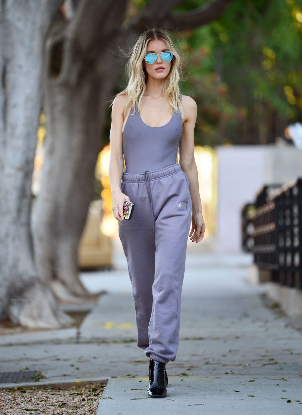 Joy Corrigan Goes Braless in LA (35 Photos)