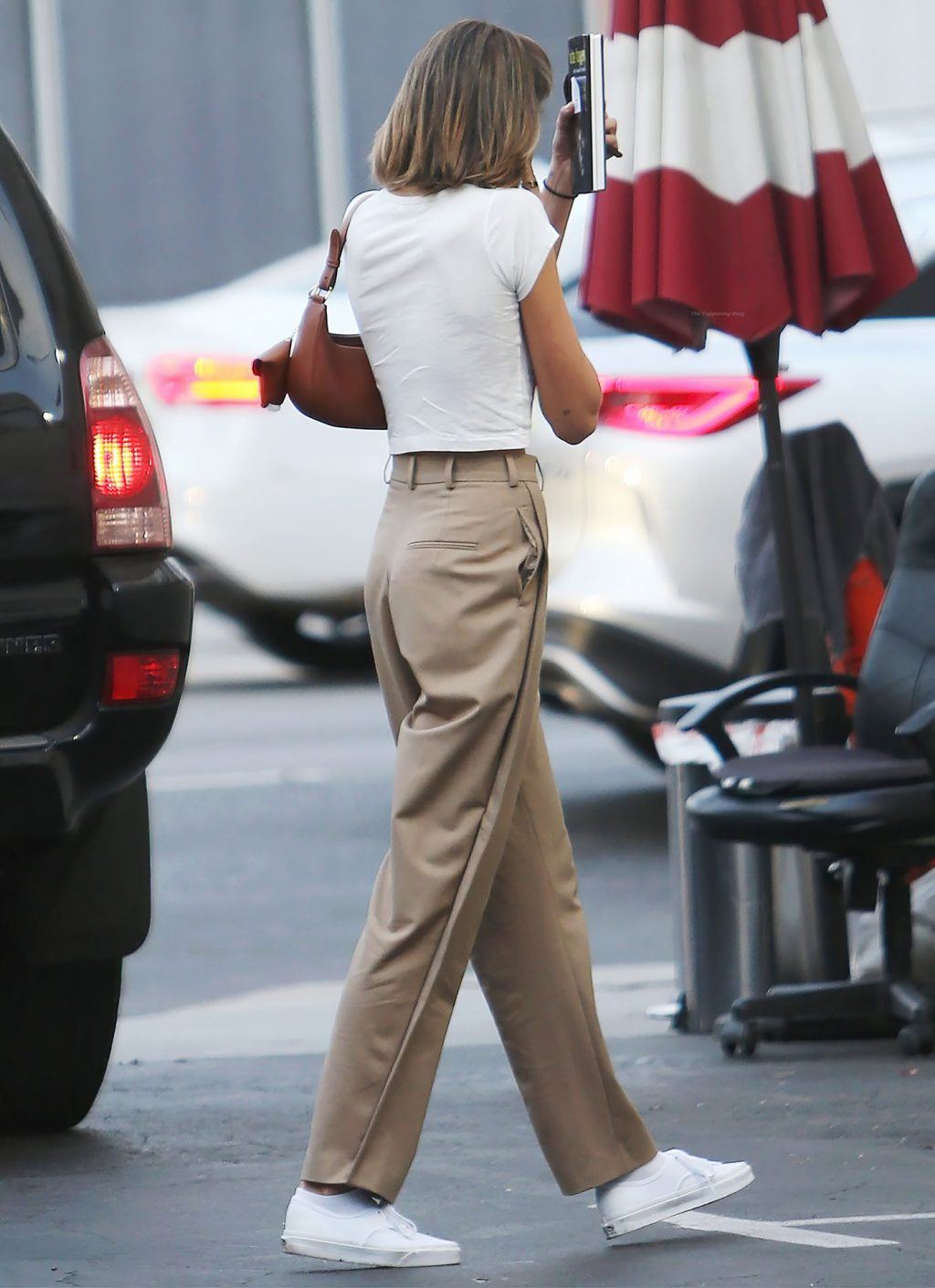 Kaia Gerber Goes Braless in Studio City (21 Photos)