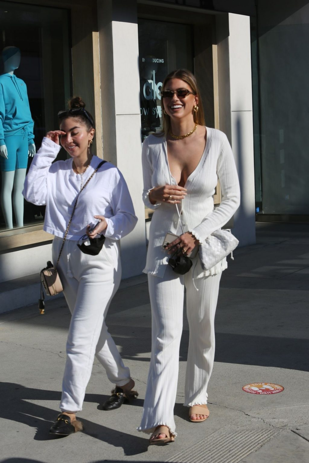 Kara Del Toro is Seen Braless in All-white While Out Shopping (33 Photos)