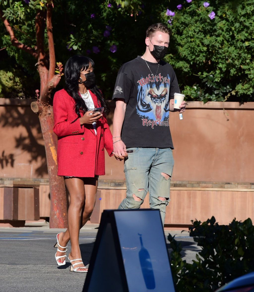 Keke Palmer Packs On the PDA with Styn After Facing Criticism Over Their Interracial Relationship (49 Photos)