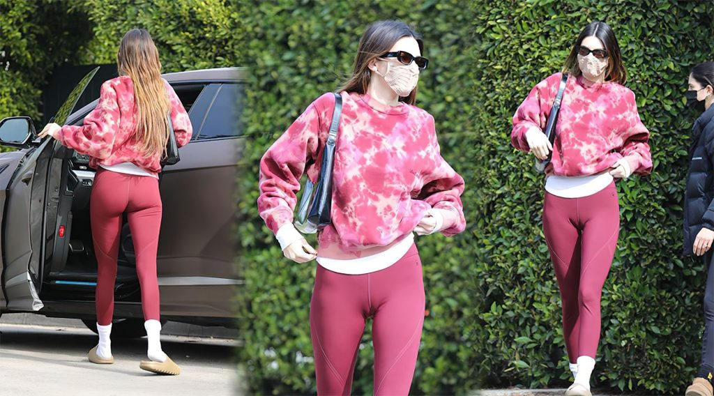 Kendall Jenner Hot (2 Collage Photos)