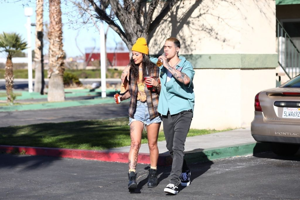 Lexy Panterra Gets Into Character Filming the Music Video in LA (74 Photos)