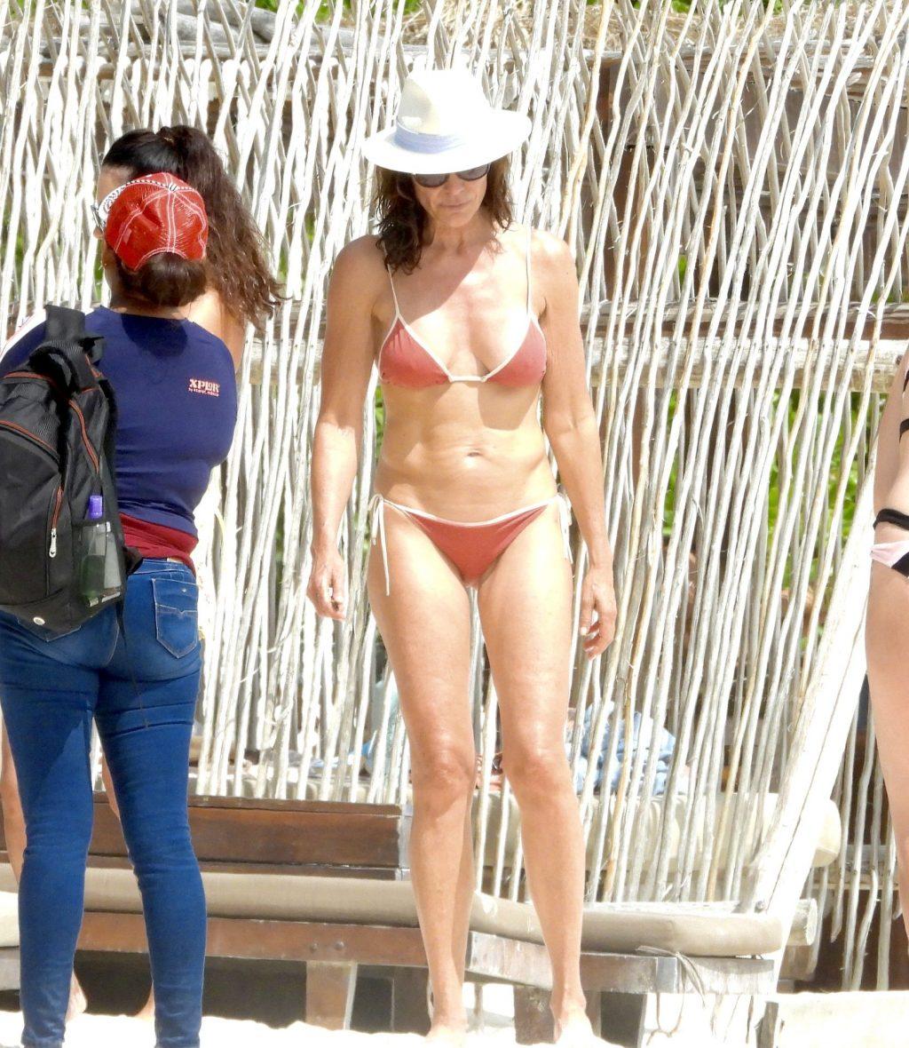 Luann de Lesseps Shows Off Her Bikini Body on the Beach in Mexico (57 Photos)