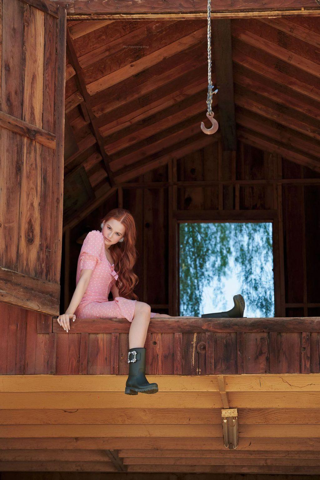 Madelaine Petsch Sexy – Cosmopolitan Magazine (7 Photos)