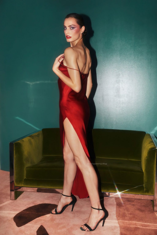 Marinet Matthee, Jasmine Daniels Sexy – Valentine's Day Collection from the Brand Fleur du Mal (17 Photos)