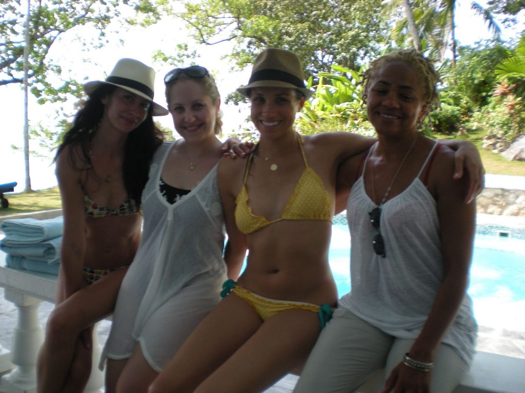 Meghan Markle Poses in a Bikini in Jamaica (3 Photos)