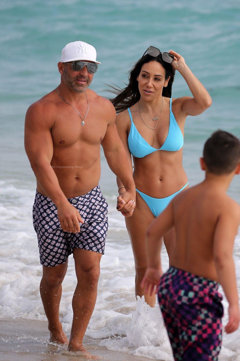 Melissa Gorga Looks Amazing in a Bikini on the Beach in Miami (141 Photos)