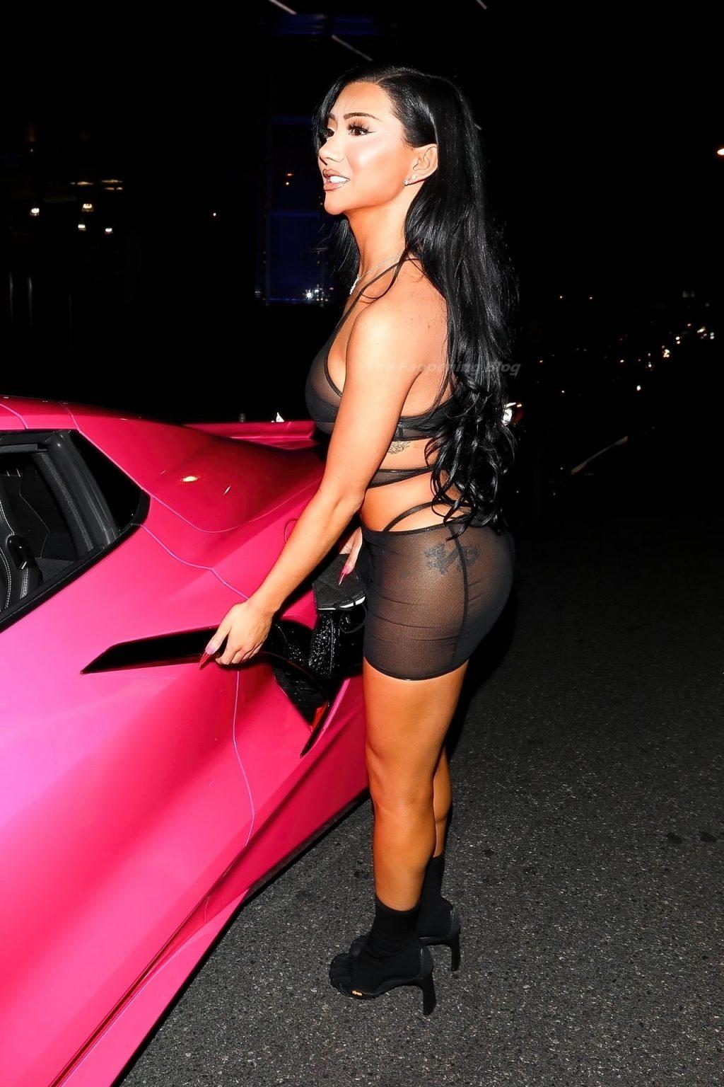 Nikita Dragun Shows Off Her Nude Boobs While Celebrating Her Birthday in LA (16 Photos)