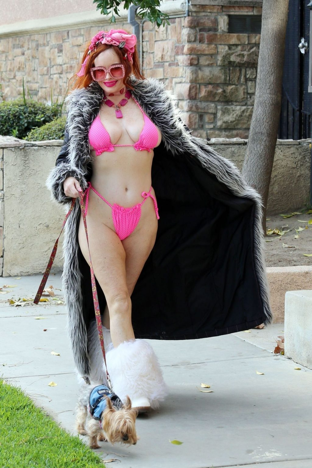 Phoebe Price Shows Off Her Curves in a Pink Bikini (42 Photos)