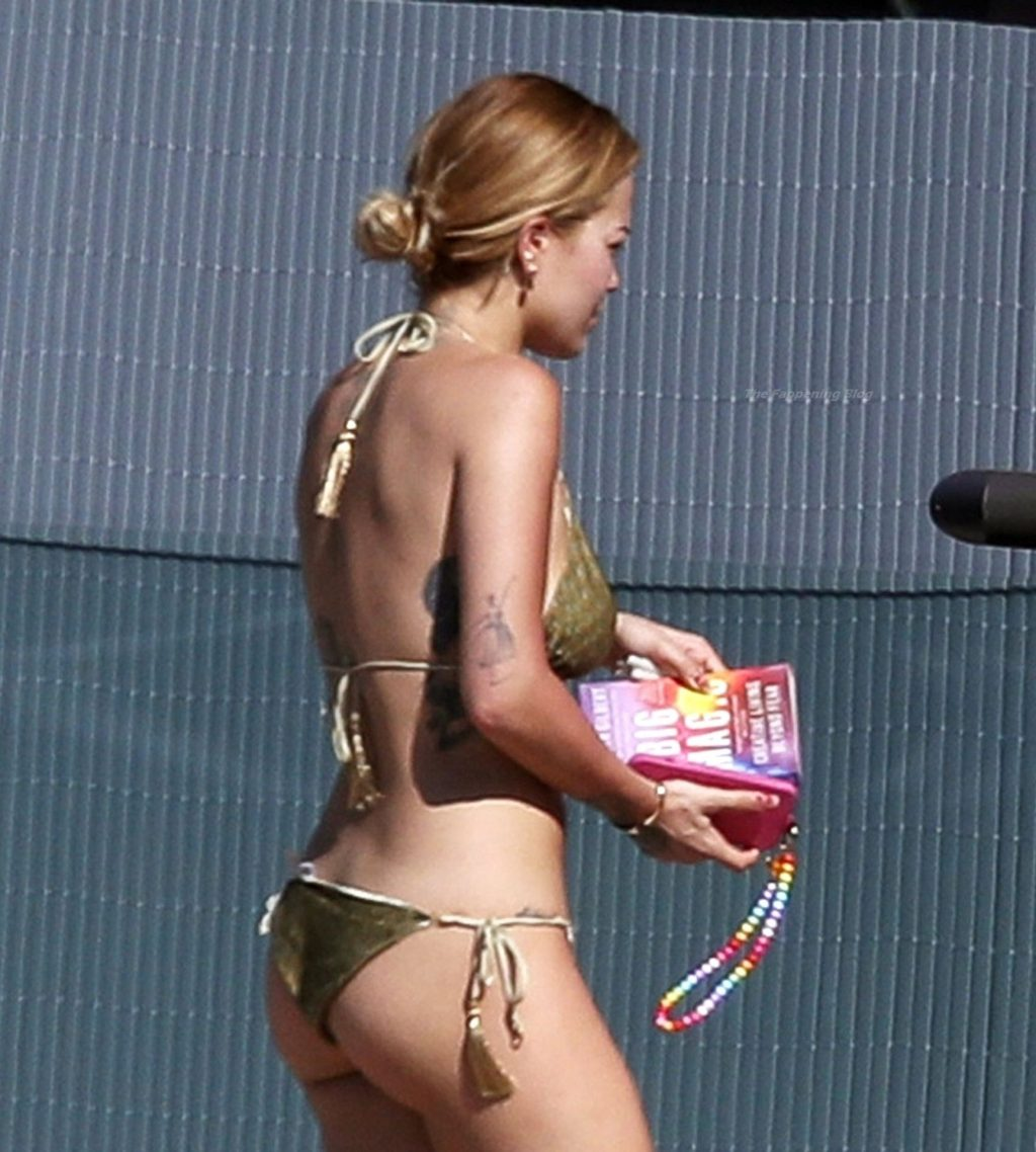 Rita Ora Shows Off Her Impressive Curves While Sunbathing with Her Sister in Sydney (41 Photos)
