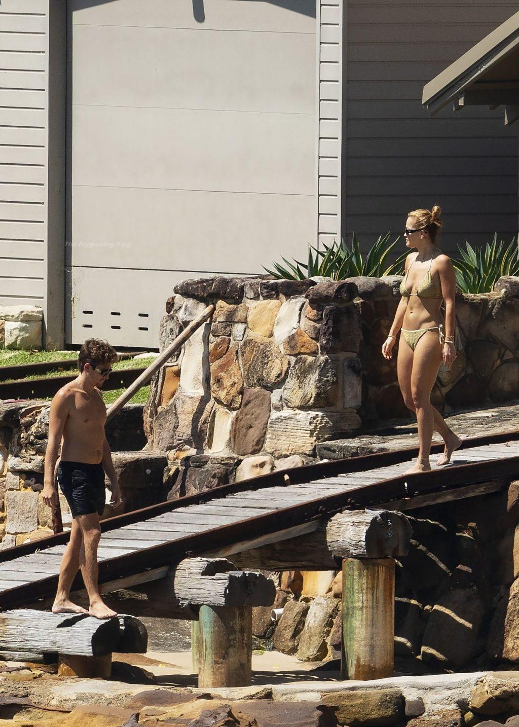 Rita Ora Soaks Up the Sun in a Bikini During a Family Trip at Sydney Harbor (29 Photos)