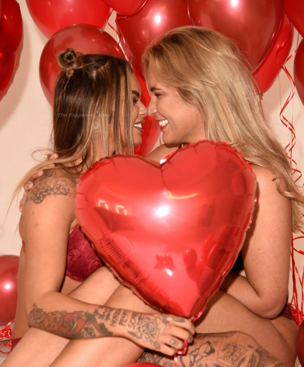 Sarah Hutchinson & Charlotte Taundry Get the Pulses Racing for a Sexy Valentine's Photoshoot (68 Photos)