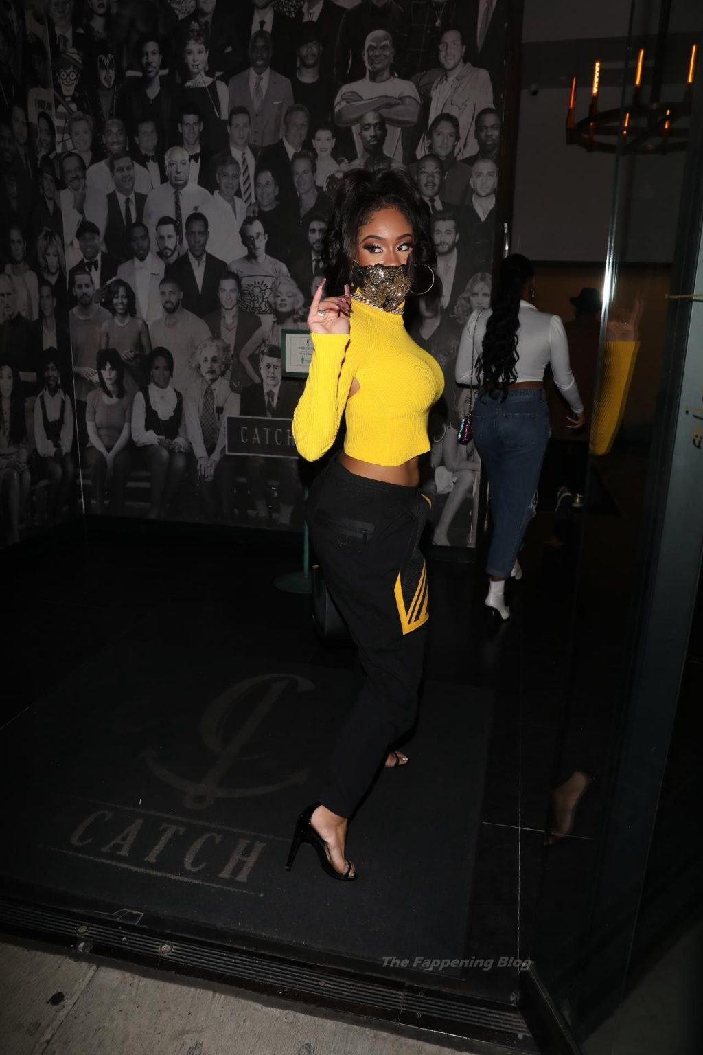 Saweetie Exits Catch LA After Dinner with a Friend (62 Photos)