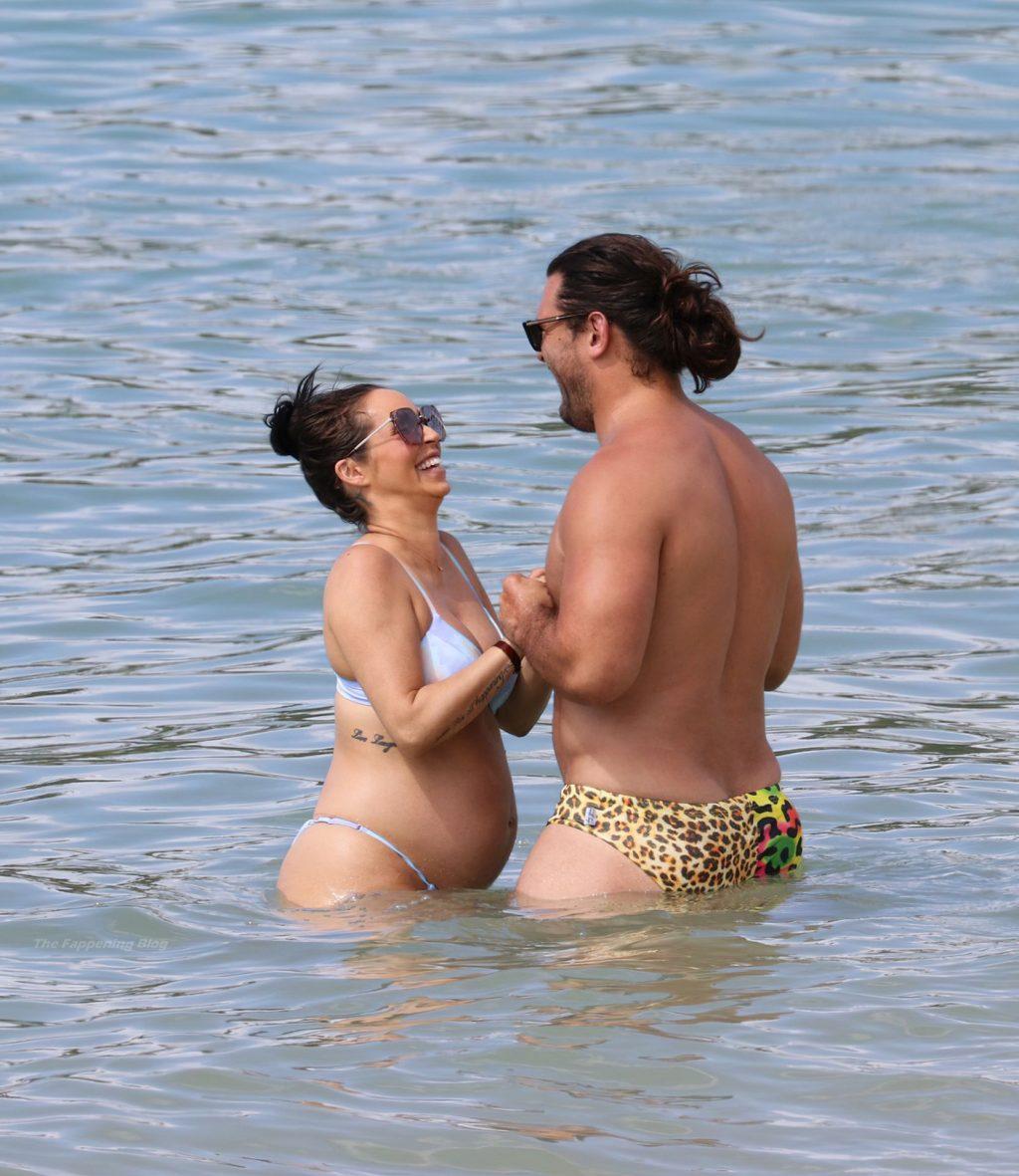 Scheana Shay & Brock Davies Enjoy a Day at The Beach in Hawaii (30 Photos)