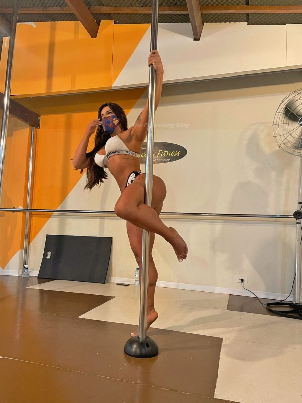 Suzy Cortez Gets the Pulses Racing with a Sexy Display on a Pole (11 Pics + Video)