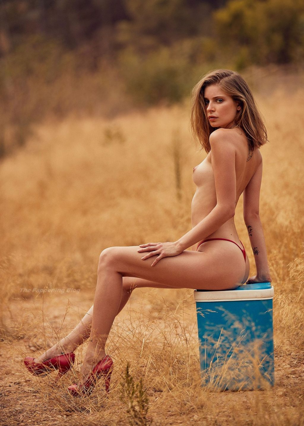 Romy Deckert Nude – Playboy (9 Photos)
