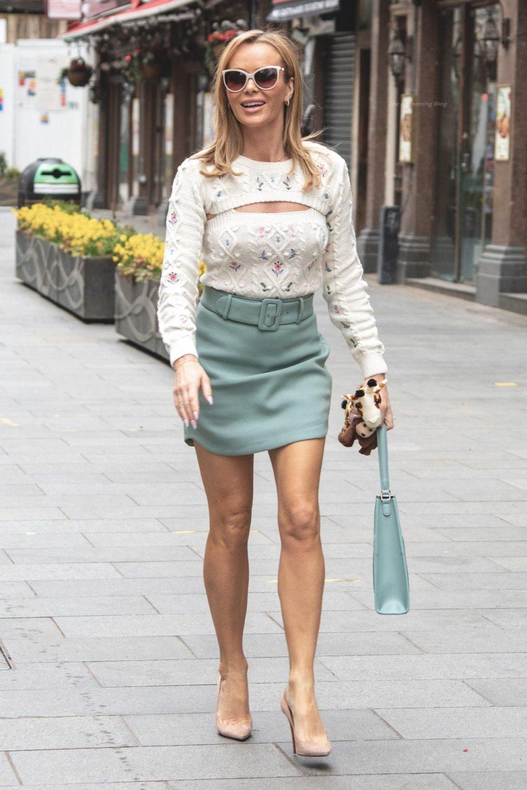 Amanda Holden is Seen Leaving Global Studios (113 Photos)