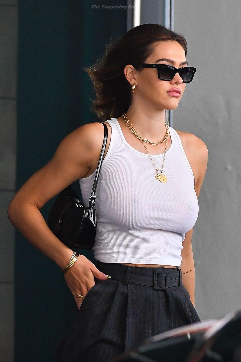 Amelia Hamlin is Seen Braless in Miami (18 Photos)