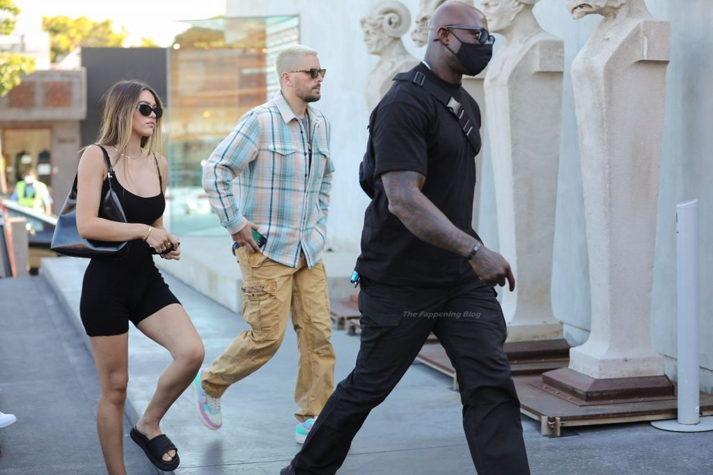 Scott Disick & Amelia Hamlin Go Shopping in WeHo (43 Photos)