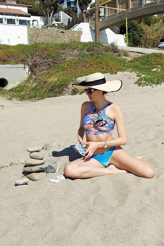 Blanca Blanco Makes It a Beach Day (20 Photos)