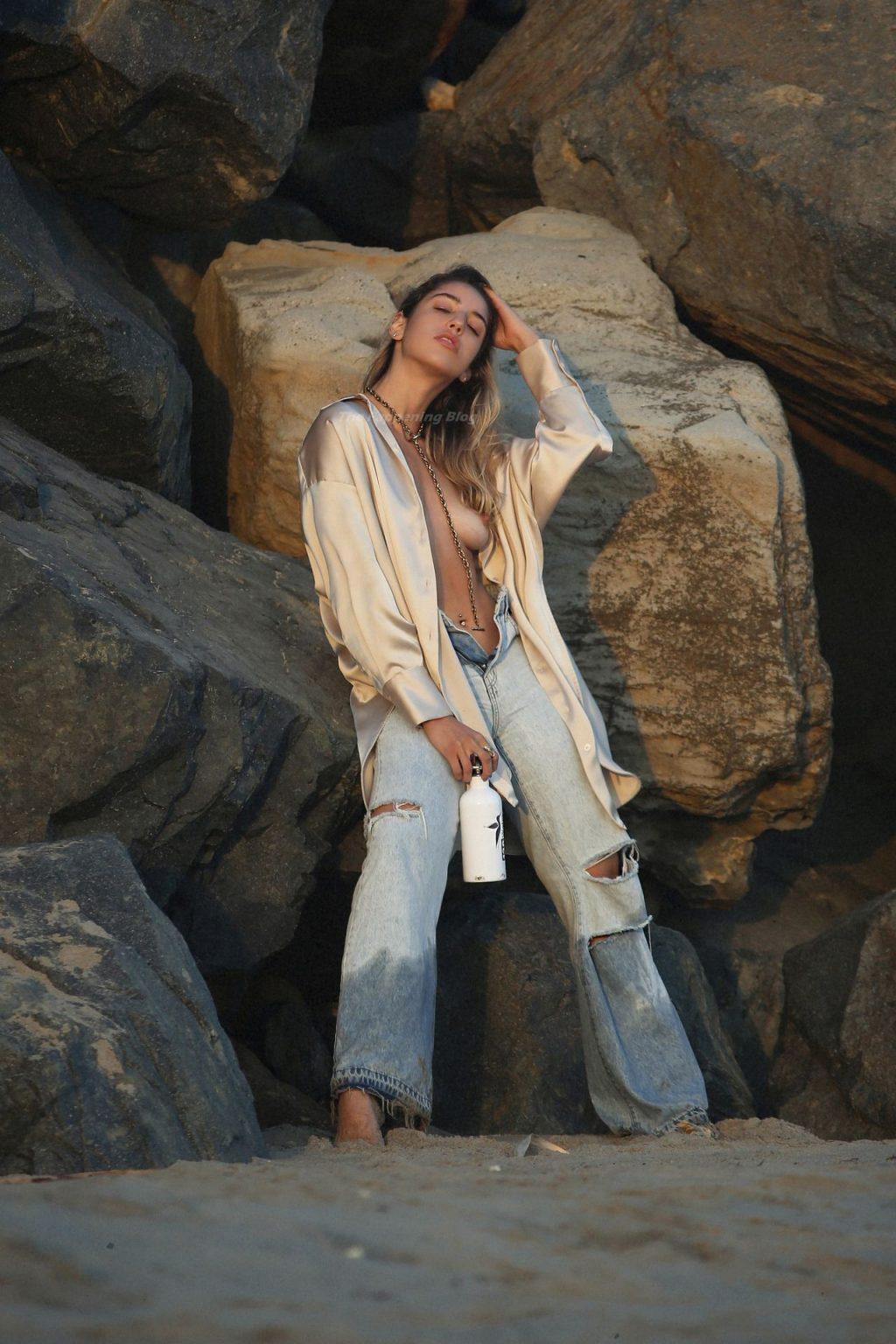 Bridgette Audrey Has a Wardrobe Malfunction on the Beach in LA (69 Nude & Sexy Photos)