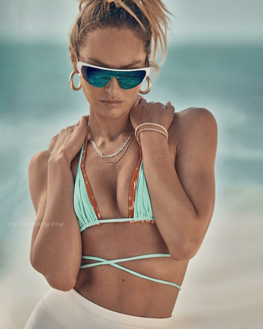 Candice Swanepoel Poses for a New Swimwear Campaign (12 Photos)