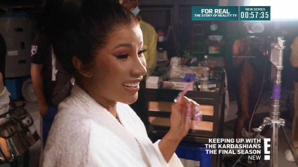 Rapper Cardi B Fangirls Over Kylie Jenner in Behind-the-Scenes WAP (44 Pics + Video)