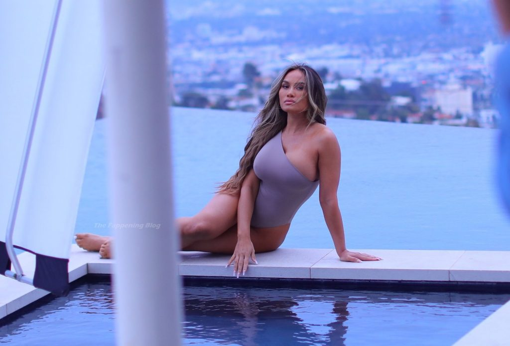 Daphne Joy Poses in Swimsuits in Los Angeles (24 Photos)