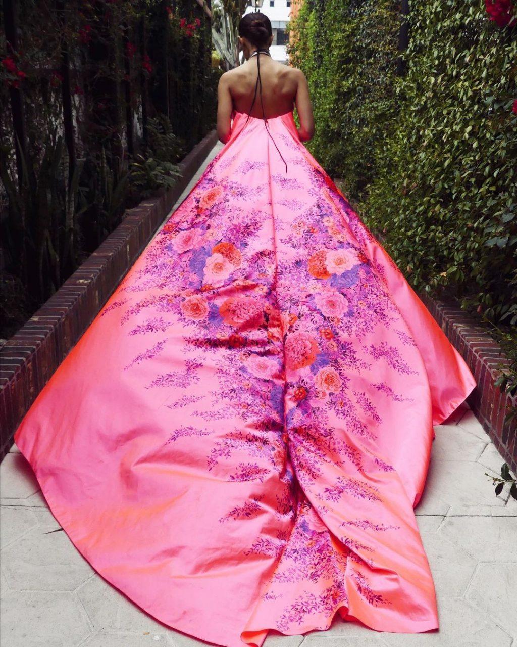 Debi Nova Flaunts Her Sexy Legs at the 63rd Annual Grammy Awards (15 Photos)