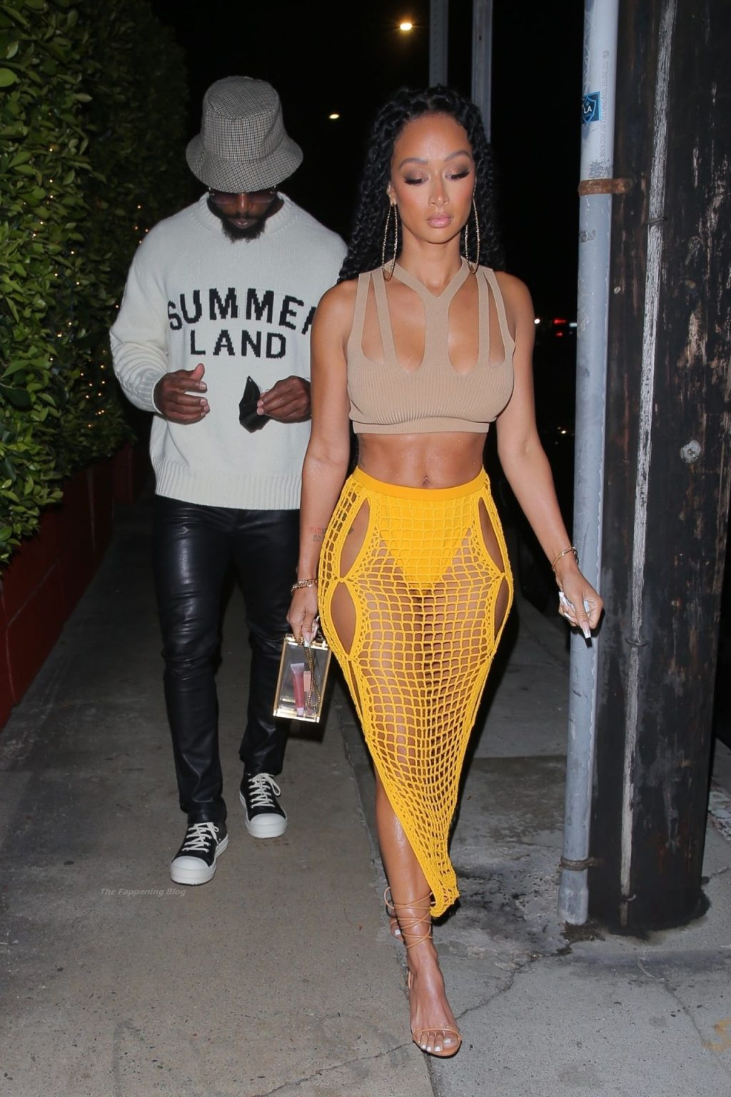 Draya Michele Puts on a Cheeky Display Stepping Out with Tyrod Taylor in Santa Monica (41 Photos)