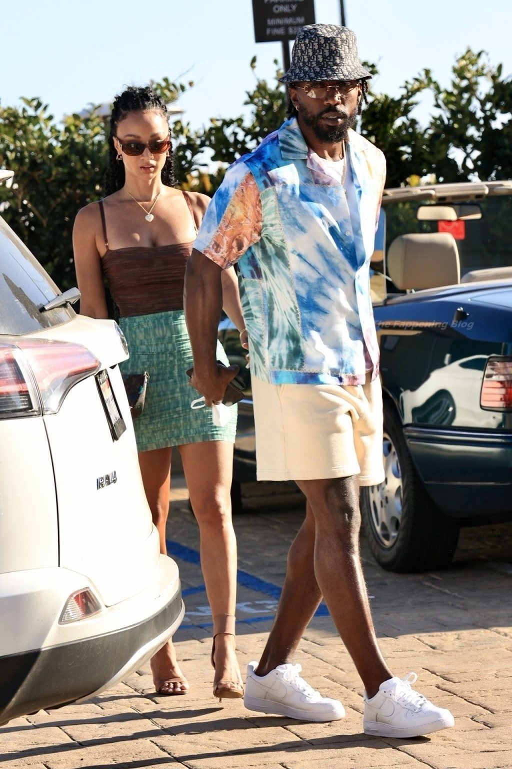 Leggy Draya Michelle & Tyrod Taylor are Spotted in Malibu (17 Photos)