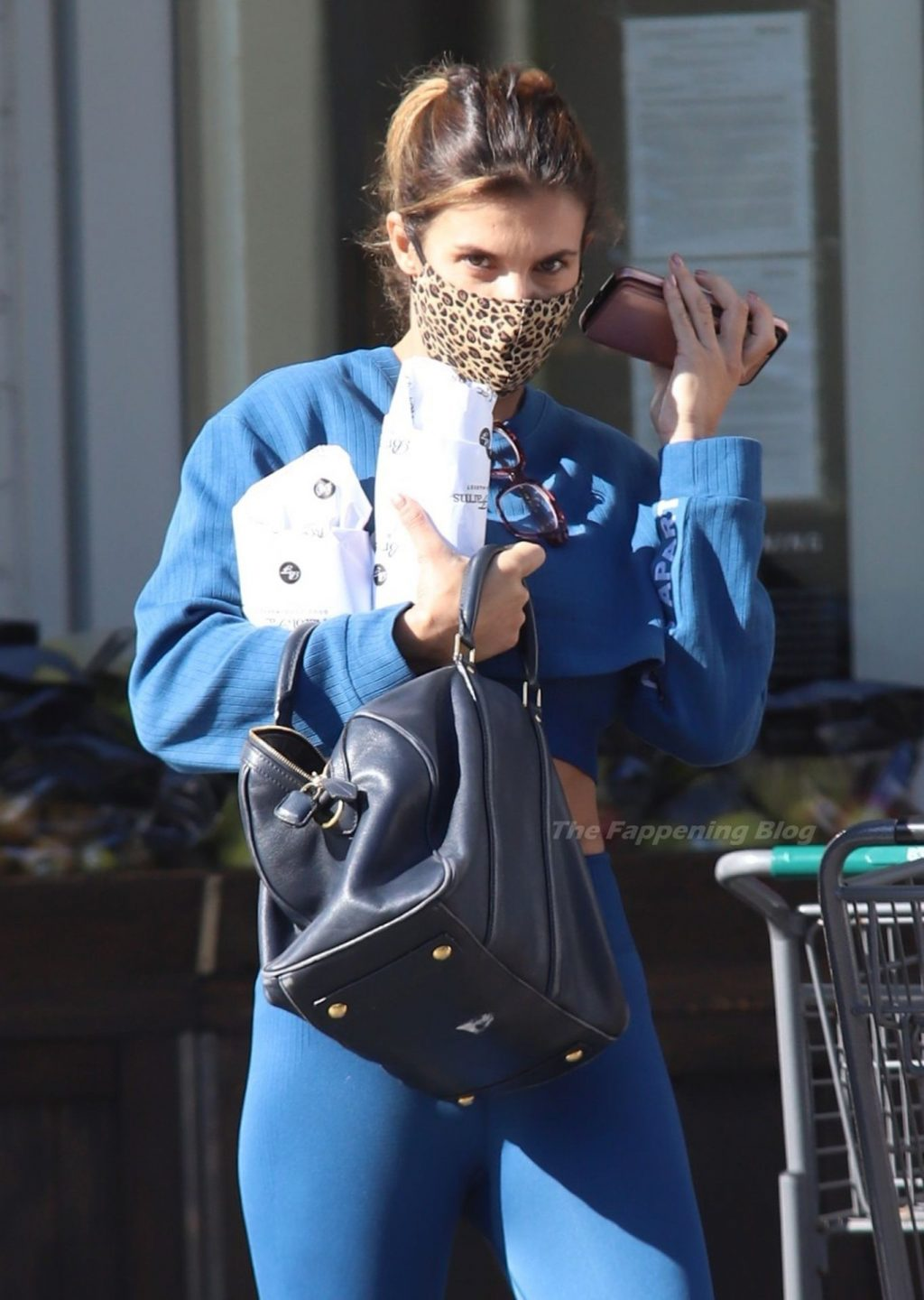 Elisabetta Canalis Flaunts Her Fit Figure in Beverly Hills (11 Photos)