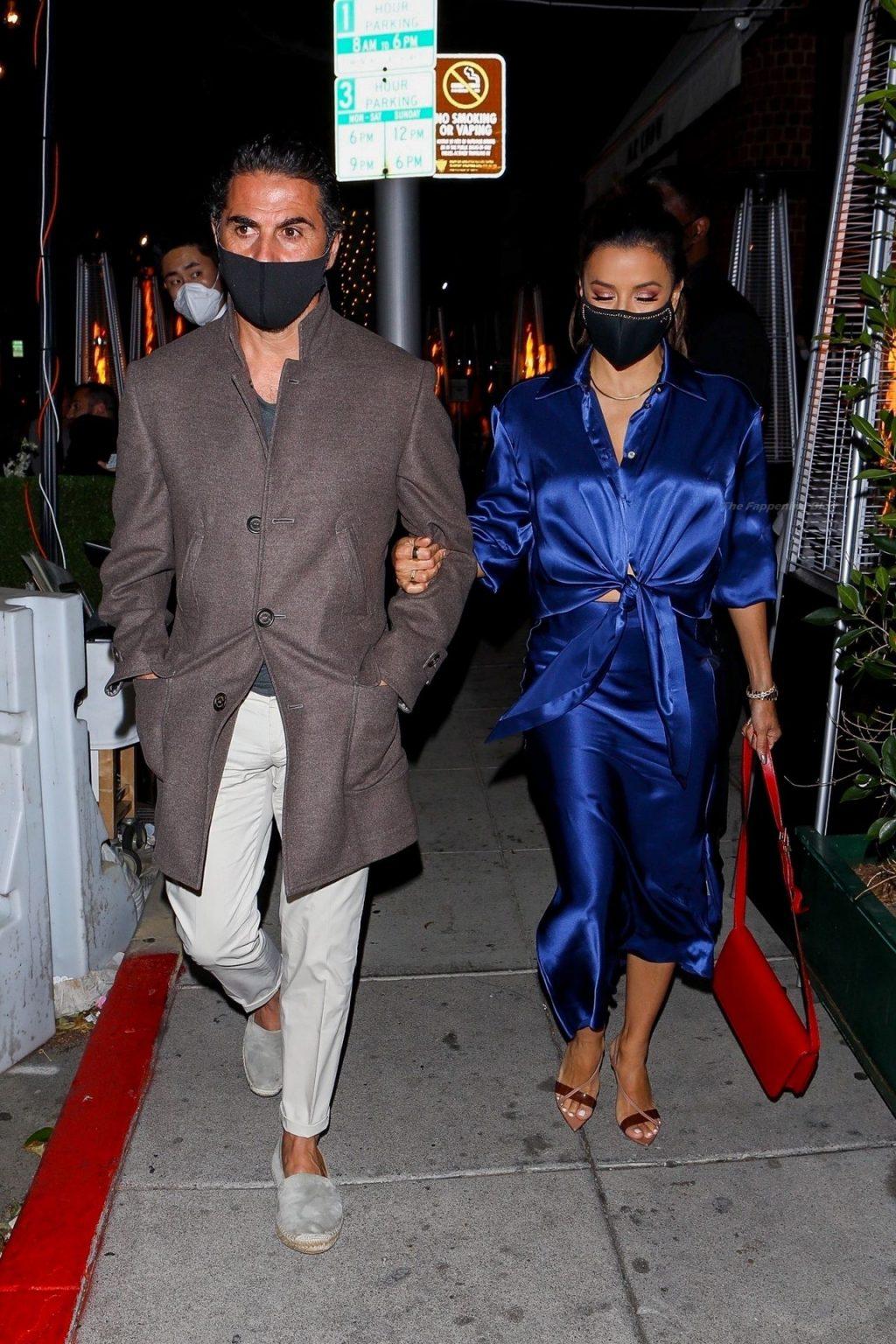 Eva Longoria & Jose Baston Have Dinner at Mr. Chow (15 Photos)