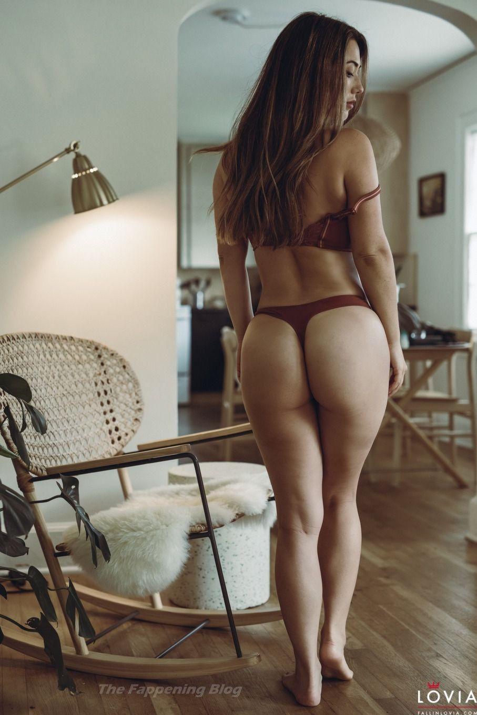 Eva Lovia Gets Naked on the Floor (14 Nude & Sexy Photos)