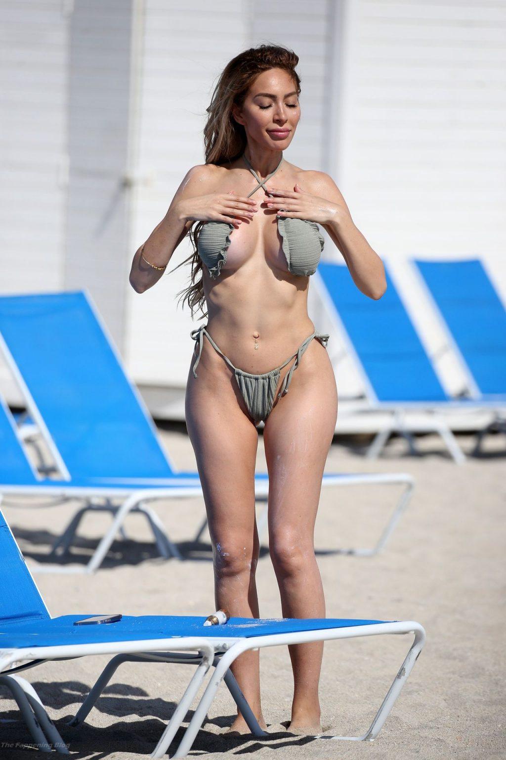 Farrah Abraham Braves the Waves in Miami (81 Photos)
