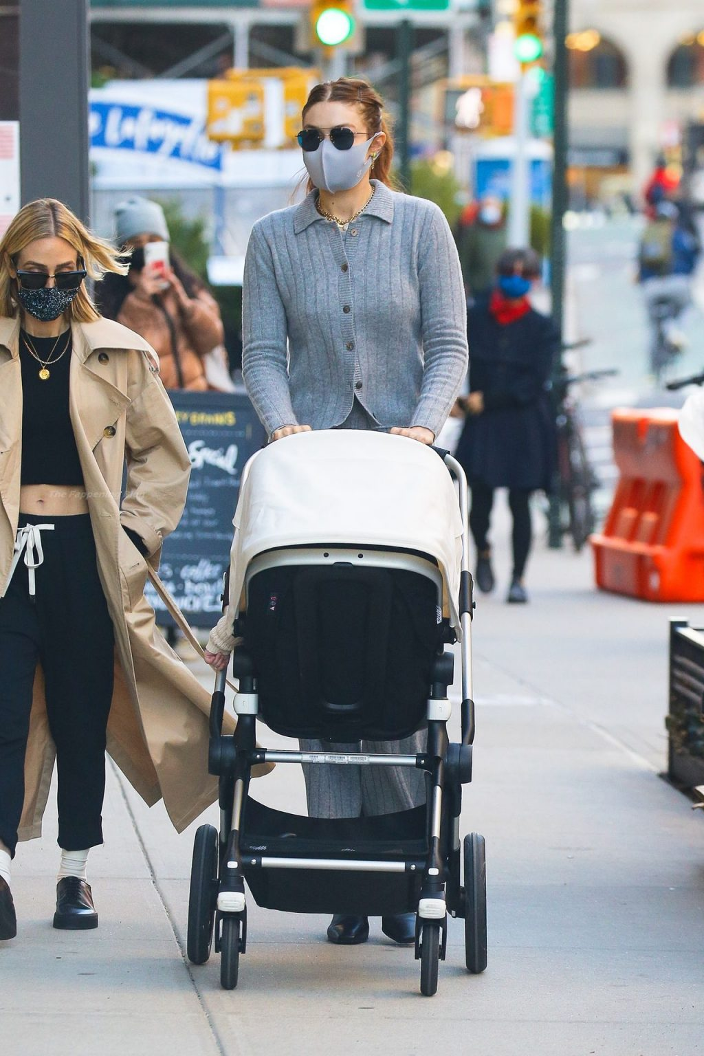 Gigi Hadid is Spotted Pushing Her Baby in Her Stroller in NYC (10 Photos)