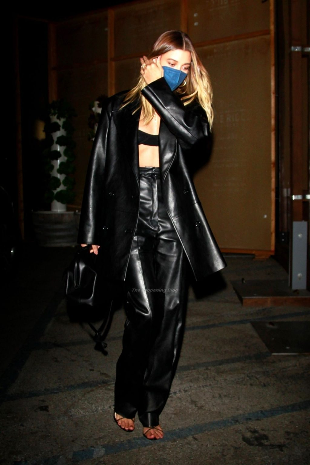 Hailey Bieber Bares Her Midriff at Craig's in WeHo (23 Photos)