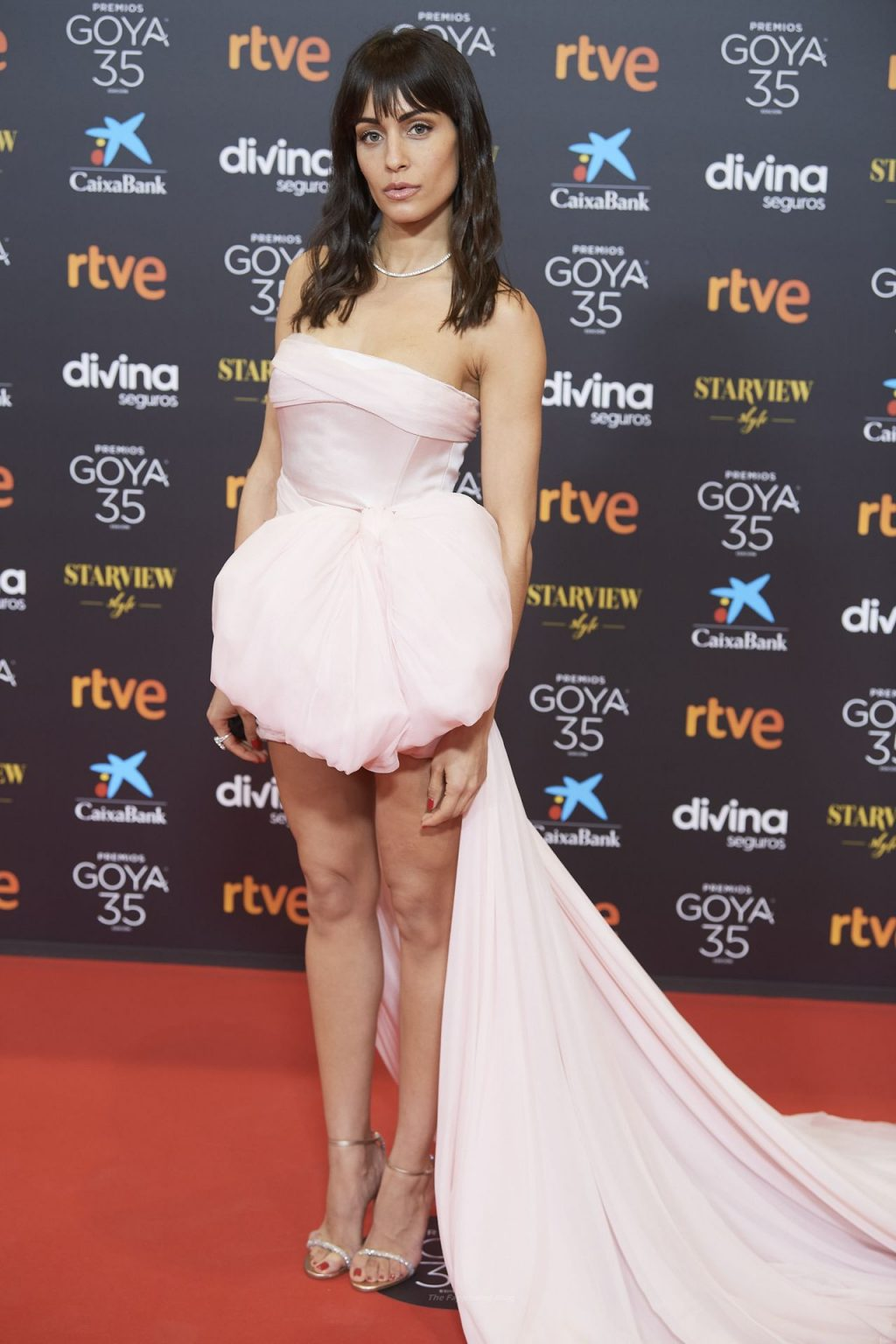 Hiba Abouk Flaunts Her Sexy Legs at Goya Cinema Awards (49 Photos)