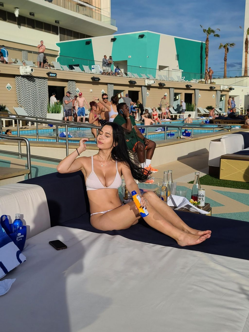 Iva Kovacevic Stuns in a Small Bikini During March Madness in Las Vegas (41 Photos)
